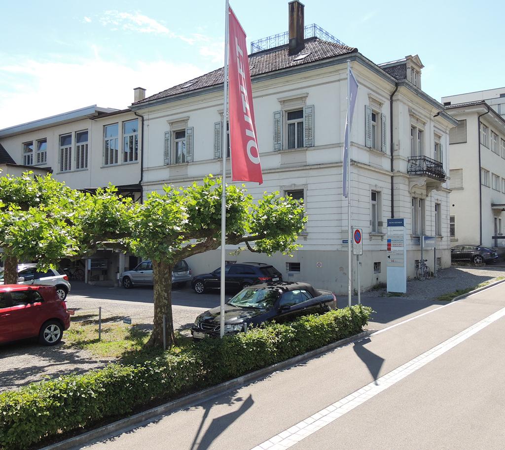 Kulturzentrum Kult-X im Schiesser-Areal Hafenstrasse 8 Kreuzlingen