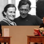 Graziella Rossi und Helmut Vogel mit <br>Liebesbriefen von Friedrich Glauser