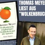 """Thomas Meyer liest aus """"Wolkenbruch""""- <br>mit Brunch, Buchclub, Film (15, 16.30, 17 Uhr)"""